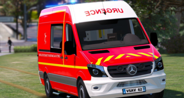 Моды для GTA 5 Mercedes Sprinter VSAV