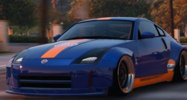 Моды для GTA 5 Nissan 350z Stardast