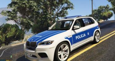 Моды для GTA 5 Policja BMW X5