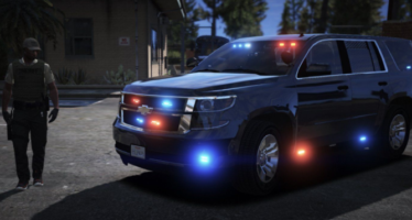Моды для GTA 5 Unmarked 2015 Chevy Tahoe PPV