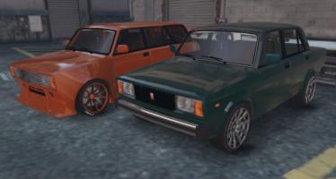 Моды для GTA 5 VAZ-2105 LADA-SPORT+2104