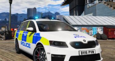 West Midlands Police Skoda Octavia vRS Dog Section