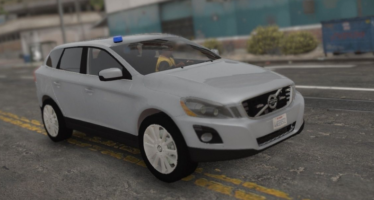 2009 Volvo XC60 Unmarked Police
