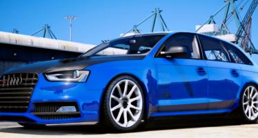 Моды для GTA 5 2014 Audi Rs4 Modify