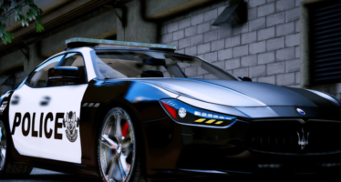 Моды для GTA 5 2014 Maserati Ghibli Police