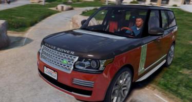 Моды для GTA 5 2015 Range Rover Vogue AB