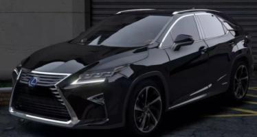 Моды для GTA 5 2016 Lexus RX 450h