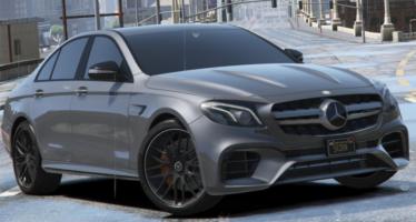 Моды для GTA 5 2018 Mercedes-AMG E63s W213