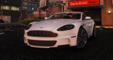 Моды для GTA 5 Aston Martin DBS 2009
