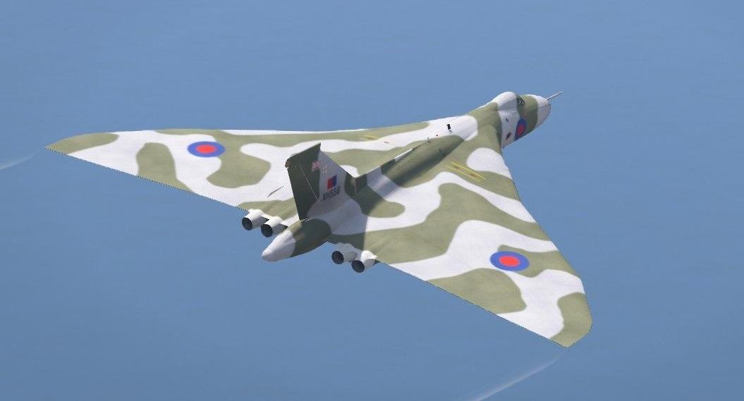 Avro Vulcan RAF