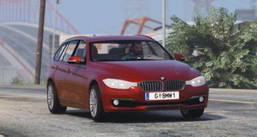 Моды для GTA 5 BMW 330d F31 2012