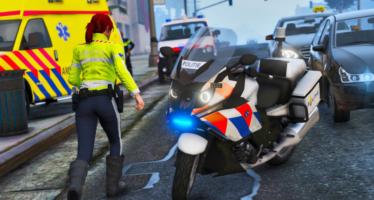 Моды для GTA 5 BMW K 1600 GTP Dutch Police