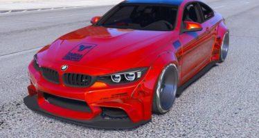 Моды для GTA 5 2014 BMW M4 F82 Liberty Walk