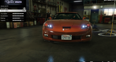 Моды для GTA 5 Chevrolet Corvette C6 Z06 2006