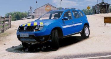 Моды для GTA 5 Dacia Duster Gendarmerie Nationale