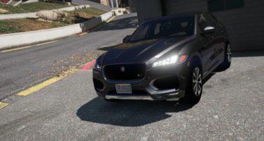 Моды для GTA 5 Jaguar F-Pace S 2017