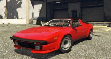 Моды для GTA 5 Lamborghini Jalpa 1988