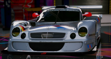 Моды для GTA 5 Mercedes-Benz CLK-LM AMG