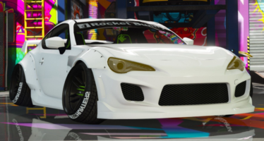 Моды для GTA 5 Toyota GT-86 RocketBunny