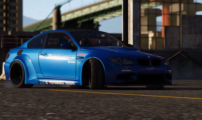 BMW M3 E92 LibertyWalk 2008