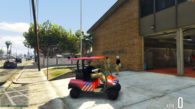 Brandweer Golfkar