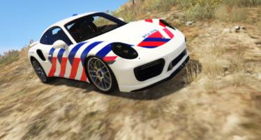 Dutch Police Porsche