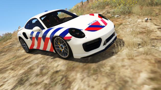 Dutch Police Porsche 911 S Turbo ELS