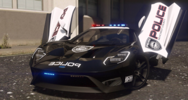 Ford GT Police