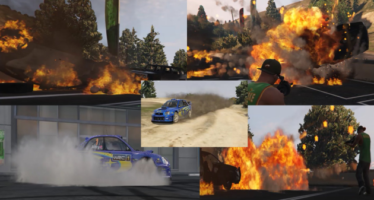 Rally Dust Effects