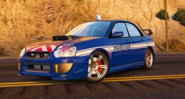 Subaru WRX Gendarmerie