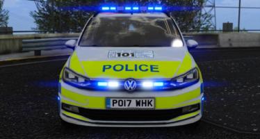 British Police Volkswagen