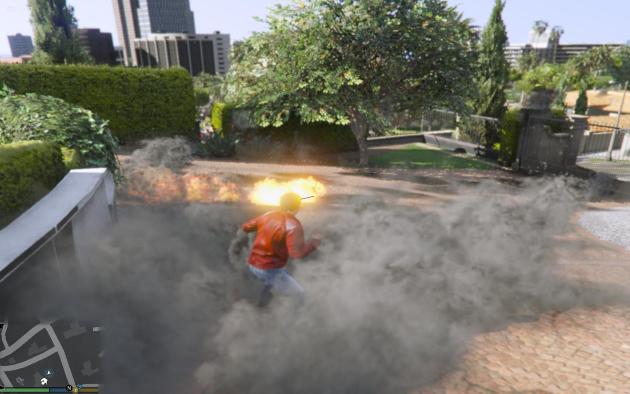 Superman LaserEye Heatvision