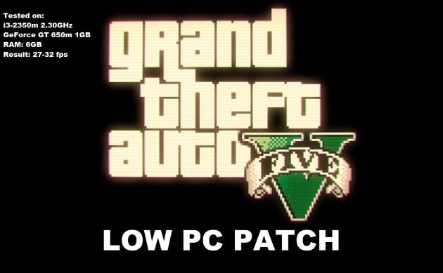 Low PC Patch