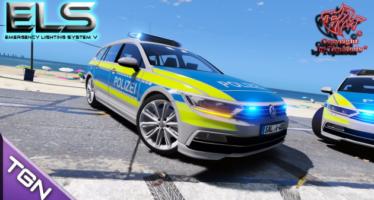 Passat B8 Autobahnpolizei