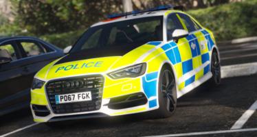 Police Audi S3