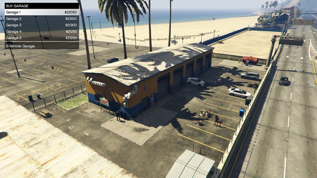 Extra Singleplayer Garages