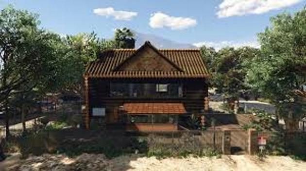Trevor Log House
