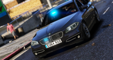 Unmarked BMW 530D