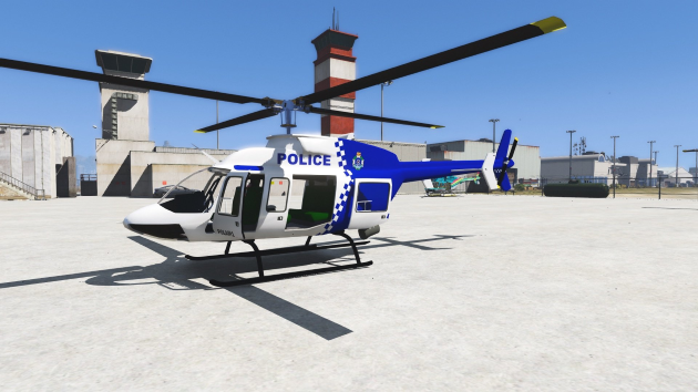 Bell 407 NSW Police
