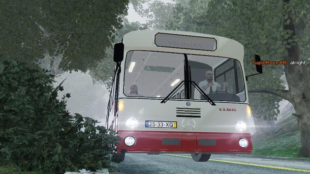 Rodoeste Mercedes Benz O305 PT Bus
