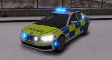 British Police BMW