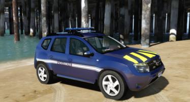 Dacia duster gendarmerie