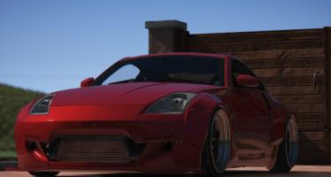 Nissan 350Z rocket
