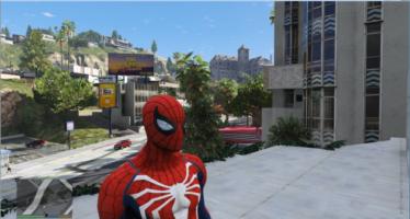 PS4 Spiderman 4k