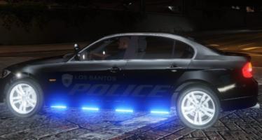 US Police BMW