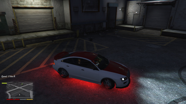Red Vehicle Lighting and Brighter Neons