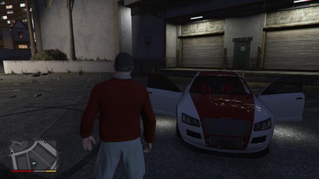 Red Vehicle Lighting