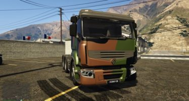 Renault truck french