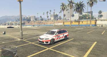 Skoda Octavia Gendarmerie