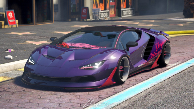 Zlayworks Lamborghini — Zentenario